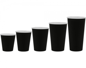 Бумажный стакан 250 мл «BLACK»