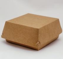 Коробка для бургера L 120*120*65 мм