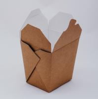 Крафт-коробка WOK для китайской лапши 500/560 мл