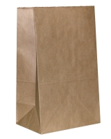 Пакет 120х80х250 коричневый